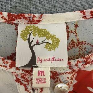Fig & Flower Dresses - 🌻 Fig and Flower Long Sheer Boho Dress